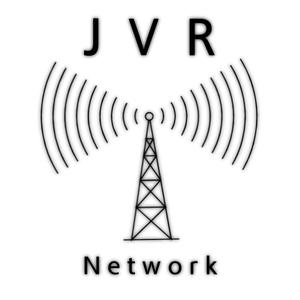 JVR Network Logo ( White - Small )