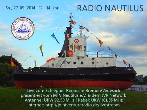 Radio Nautilus 27. 09. 2014