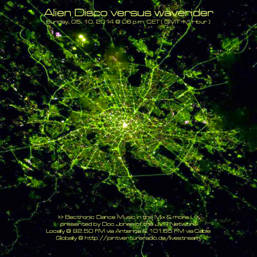 Alien Disco versus waverider 05. 10. 2014