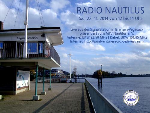 Radio Nautilus 22. 11. 2014