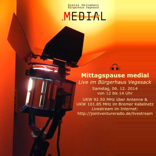 Mittagspause medial 06. 12. 2014