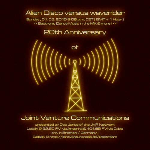 Alien Disco versus waverider 01. 03. 2015