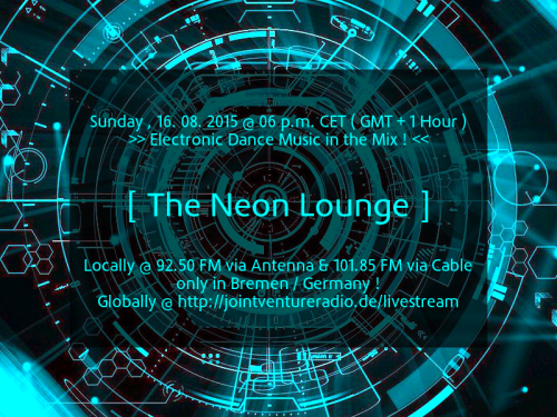 The Neon Lounge 16. 08. 2015