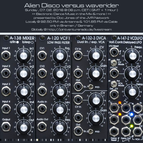 Alien Disco versus waverider 09. 02. 2016