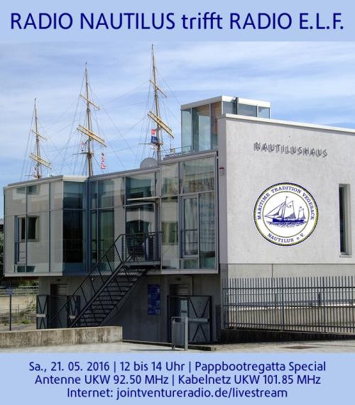 Radio Nautilus trifft Radio ELF